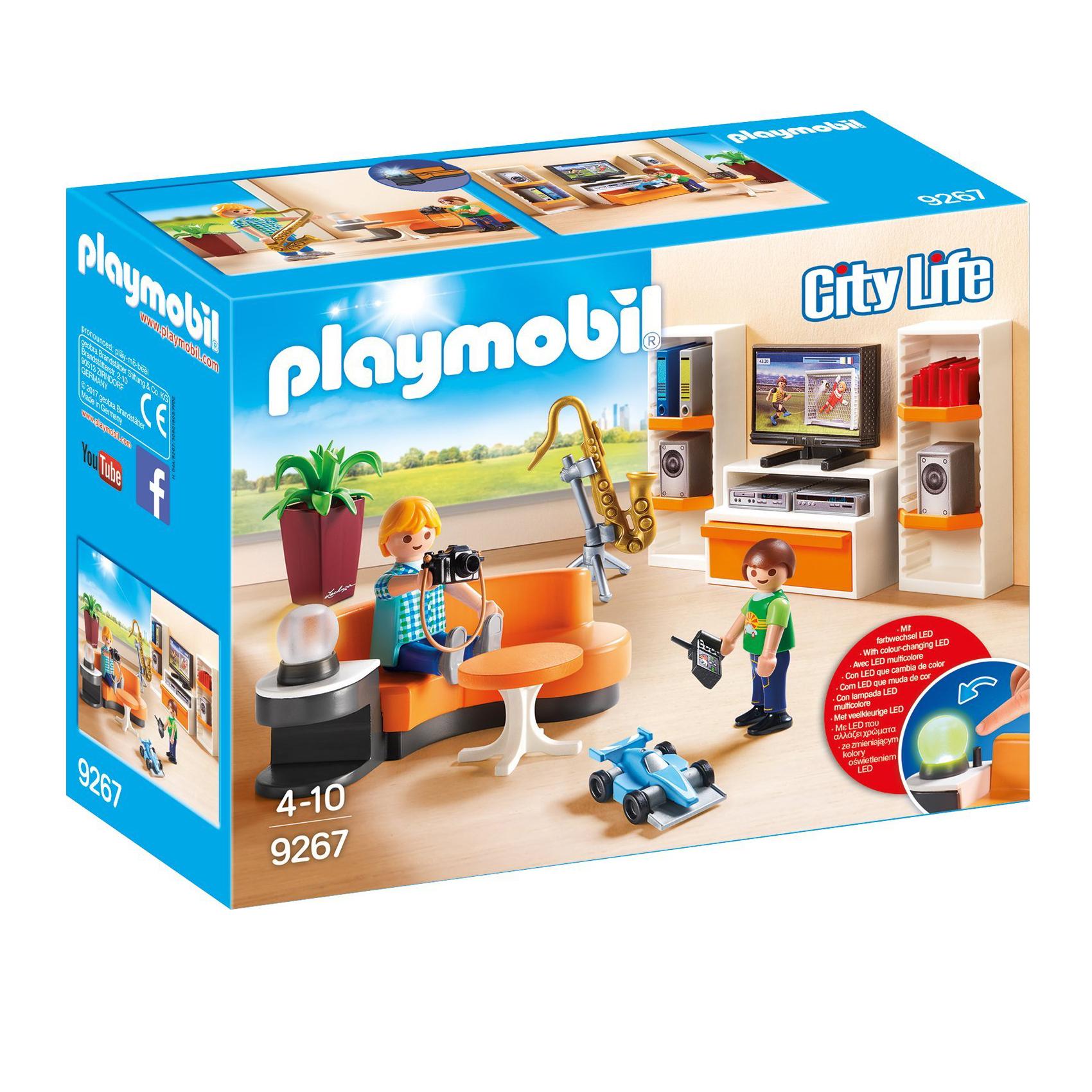 Modernes Lego Wohnzimmer 2018: Playmobil 3er SET 9267 9268 9269 Oder 9270 City Life